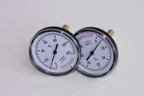 round dial thermometers