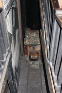 cart with coal