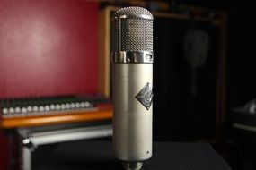 microphone in the studio