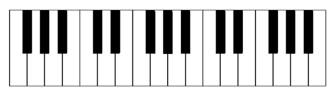 piano keyboard instrument