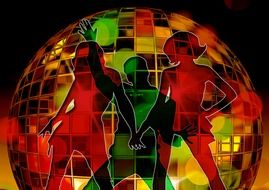 image disco ball