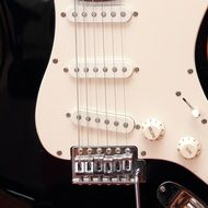 part electric guitar close-up