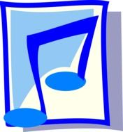 clipart,picture of blue sound icon