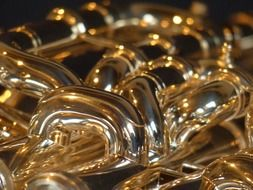 bugle is a copper musical instrument