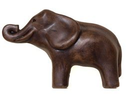 statuette of African elephant