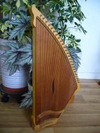 kantele stringed instrument