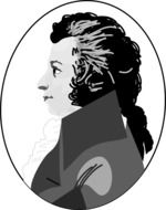 clipart of the wolfgang amadeus mozart