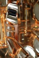 picture of the golden saxophone