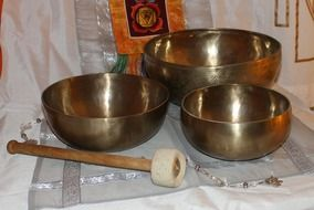 Tibet singing bowls