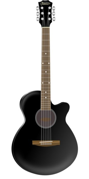 acoustic black musical instrument guitar drawing