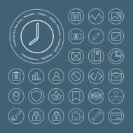 Universal Icons For Web and Mobile Vector Design N2