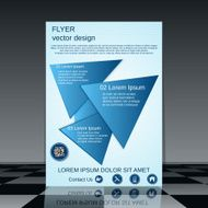 Business flyer template N6