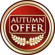 Autumn Offer Label