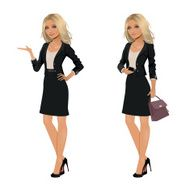 Blonde Businesswoman