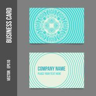 Corporate identity - business cards N2