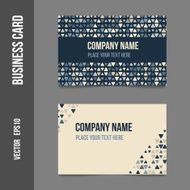 Corporate identity - business cards N4