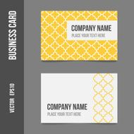 Corporate identity - business cards N5