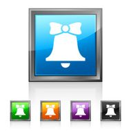 Bell icon on square buttons - SquaredSeries