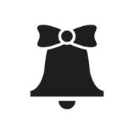 Bell icon on a white background - SingleSeries