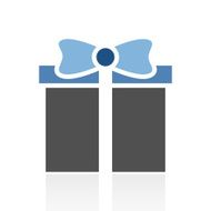 Gift Box icon on a white background - RoyalSeries