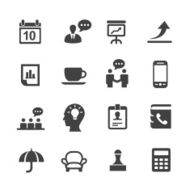 Business Icons Set 4-Acme Series