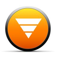 orange button with icon of inverted Pyramid