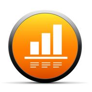 orange button with icon of Bar chart