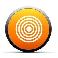 orange button with icon of Target