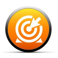 orange button with icon of Target and arrow