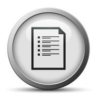 silver button with icon of Document