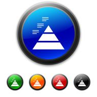 round buttons with icon of Pyramid
