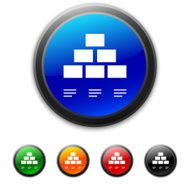 round buttons with icon of Pyramid diagram