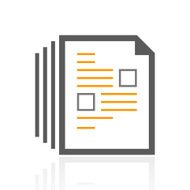 Document icon on a white background - Pro Series N8