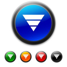 round buttons with icon of inverted Pyramid