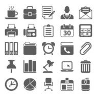 office and business icons N2