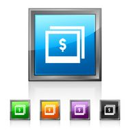 Photography Sale icon on square buttons N2