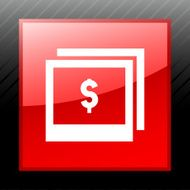 Photography Sale icon on a square button