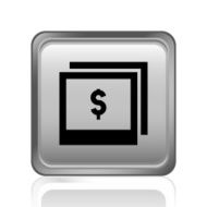 Photography Sale icon on a square button N2