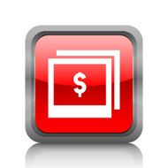 Photography Sale icon on a square button N3