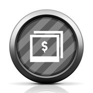 Photography Sale icon on a round button N6