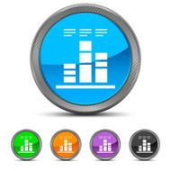 Bar Graph icon on circle buttons N32