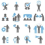 Businessman Concept Icon N2