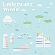 Uderwater World Future city