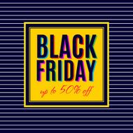 Black Friday Sale Poster design N2