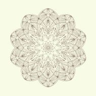 Mandala Floral ethnic abstract decorative elements N2