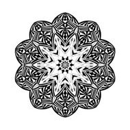Mandala Floral ethnic abstract decorative elements N4