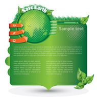 Save Earth - Website Template