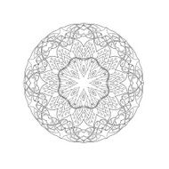 Mandala Floral ethnic abstract decorative elements N6