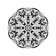 Mandala Floral ethnic abstract decorative elements N7