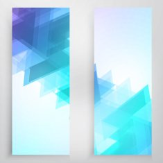 Vector banners and triangles N2